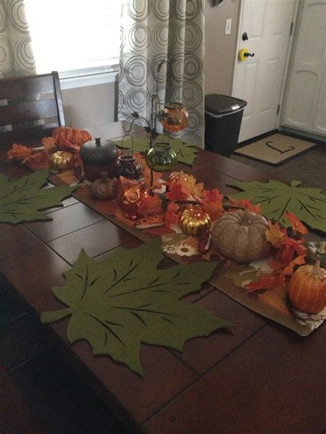 my dining table fall dining table decor photograph my dining table fall de