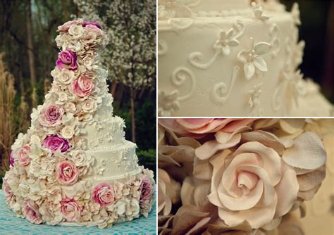 pink turquoise shabby chic wedding inspiration every last detail