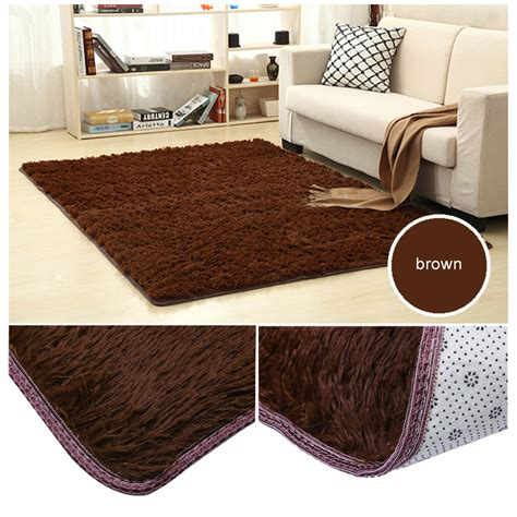 Large Dining Room Area Rugs Large Size Fluffy Rugs Anti Skid Shaggy Area Rug Dining