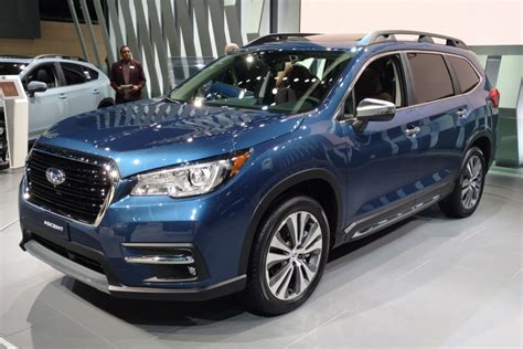 subaru ascent suv biggest subaru  launched   market auto express