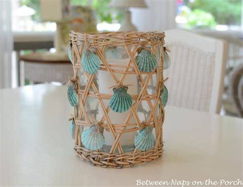 craft projects with seashells seashell craft for nautical house decorating