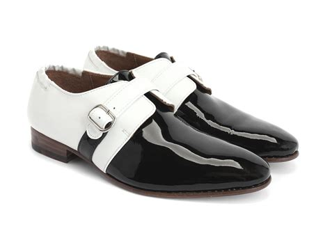 fluevog shoes fluevog shoes shop johnston black white single