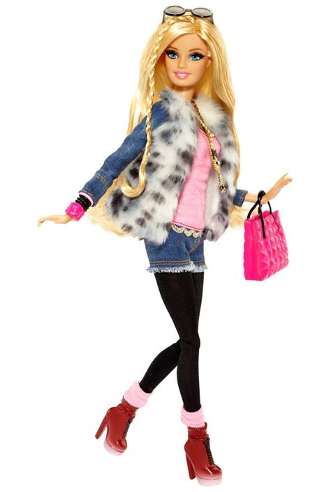 Le Fashionistacom Designer Weekly Pink by Style 174 Doll Faux Fur Jacket