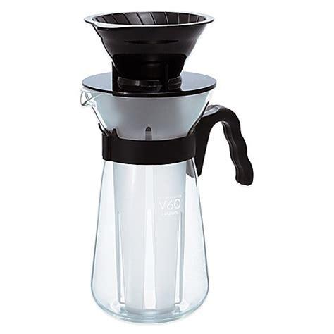 Hario Vic 02b V60 Coffee Maker Pembuat Es Kopi buy hario v60 fretta vic 02b coffee maker in black