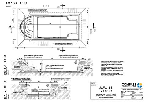 java river layout how to build a swimming pool step by step compass pools