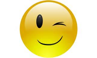 Image result for Winking Smiley Face Clip Art