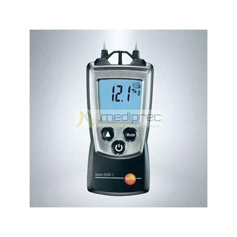 material testo medidor de humedad en maderas materiales testo 606