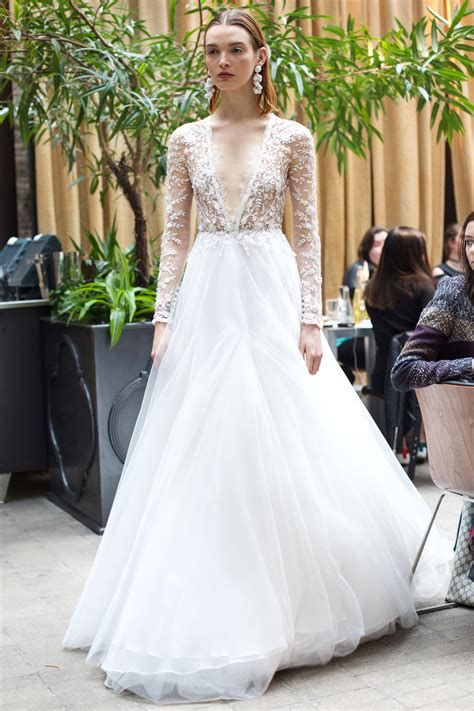 bridal fashion week wedding wednesday spring 2018 bridal bonjour blue