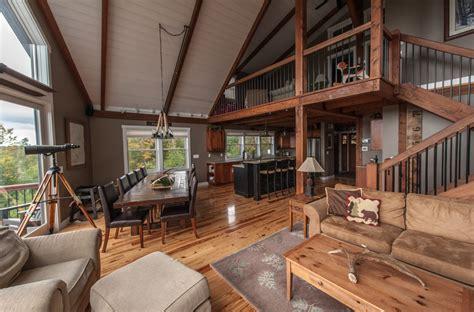 moose ridge mountain lodge yankee barn homes