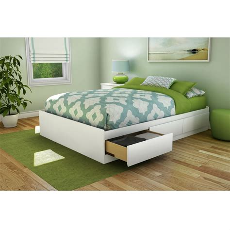 full size bed with drawers furniture flat wooden platform bed frame full size with