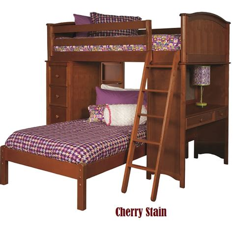 sleep and study loft bed cooley sleep storage study loft bed