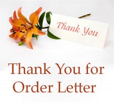 Purchase Order Thanks Letter Purchase Order Cancellation Letter