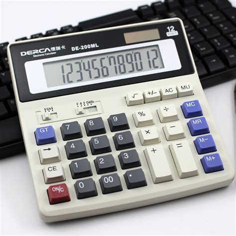 calculator full calculator digit electronic calculator with big button and