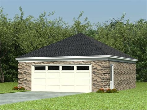 hip roof garage plans 2 car garage plans two car garage plan with hip roof