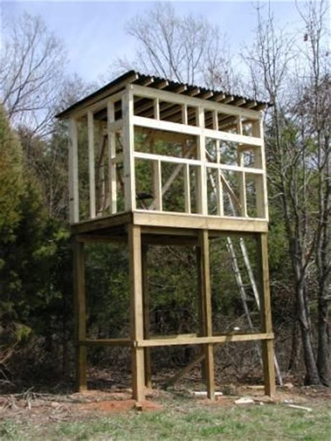 Plans For Elevated Deer Blind 25 best ideas about deer blinds on