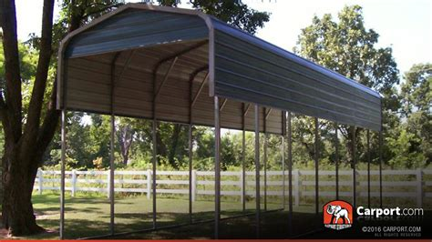 Carport Shop by Rv Carport 12 X 36 Regular Metal Roof Shop Metal