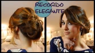 Peinado recogido elegante de fiesta f 225 cil elegant and easy updo for