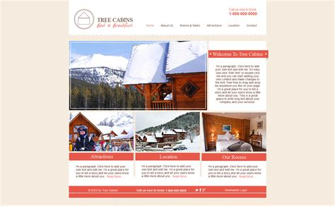 Hotels Wix Website Template 47292 Wix Website Templates For Sale