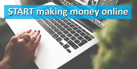 Start Making Money Online Today - how to start making money online make your own website today