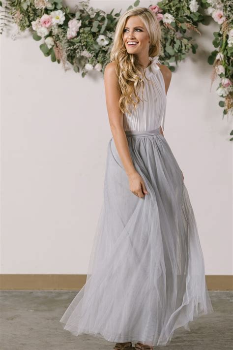 25 best ideas about grey maxi skirts on