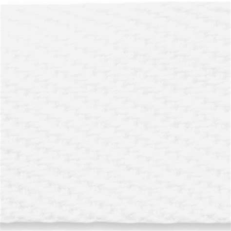 3695 white twill weave cotton webbing national