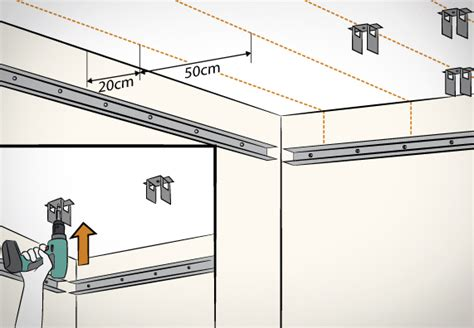 Trockenbau Decke Material Berechnen by Decke Abh 228 Ngen In 8 Schritten Obi Ratgeber