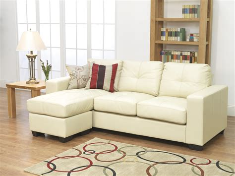Small Leather Sleeper Sofa White Leather L Shaped Sofa White Sectional Sofa With Chaise Leather L Shaped Thesofa