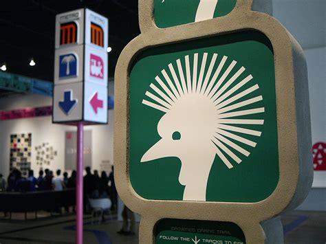 designboom lance wyman lance wyman exhibition at muac in mexico city