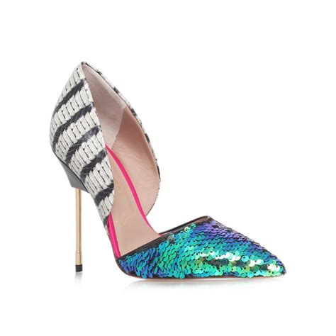 coloured patterned heels the best party heels to buy now photo 17