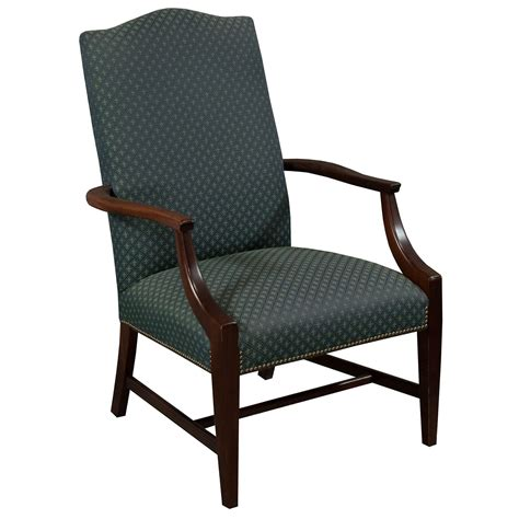 St Timothy Furniture by St Timothy Traditional Used Side Chair Blue Pattern