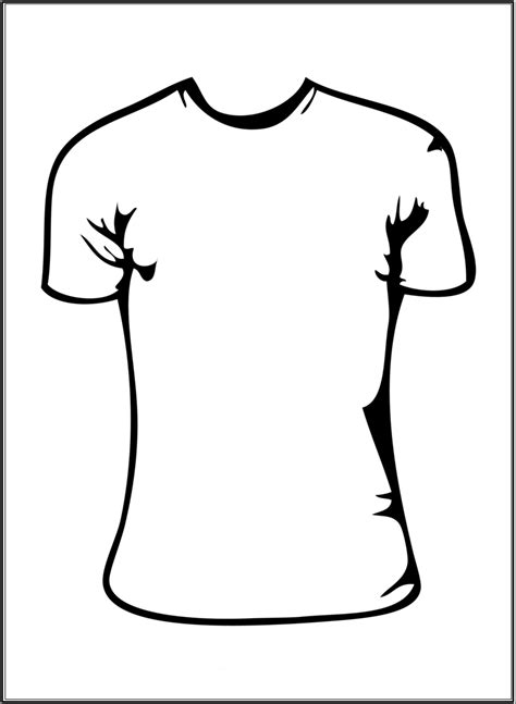 White Shirt Template by White T Shirt Template Clipart Best