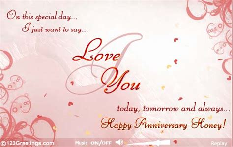 Wedding Anniversary Song For Husband by My Husband Sending Me This Greeting For Our Happy 21st