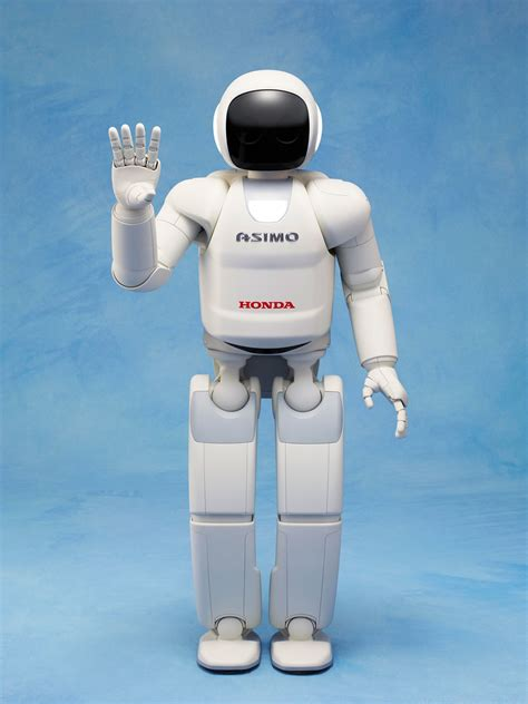the robot and the honda s latest asimo robot is more autonomous better balanced