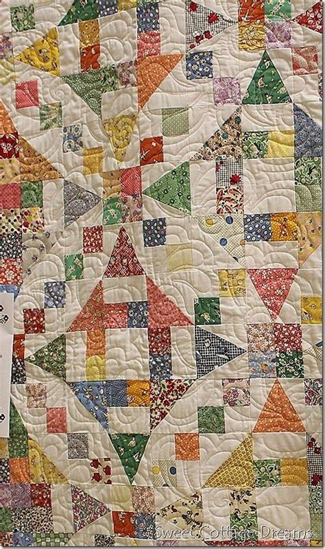 Sweet Cottage Dreams by Sweet Cottage Dreams Mystery Quilt With 30s Repro Prints