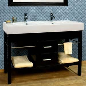 trough bathroom sink and vanity 48 quot laird stainless steel vessel sink vanity polished