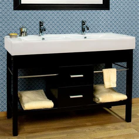 double trough sink bathroom vanity 48 quot laird stainless steel vessel sink vanity polished