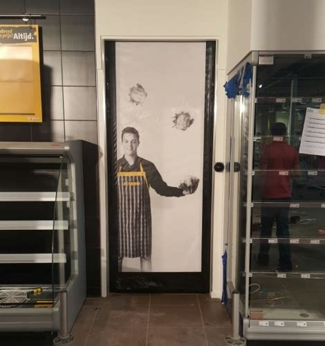 dynaco high speed roll up doors with printed door curtain