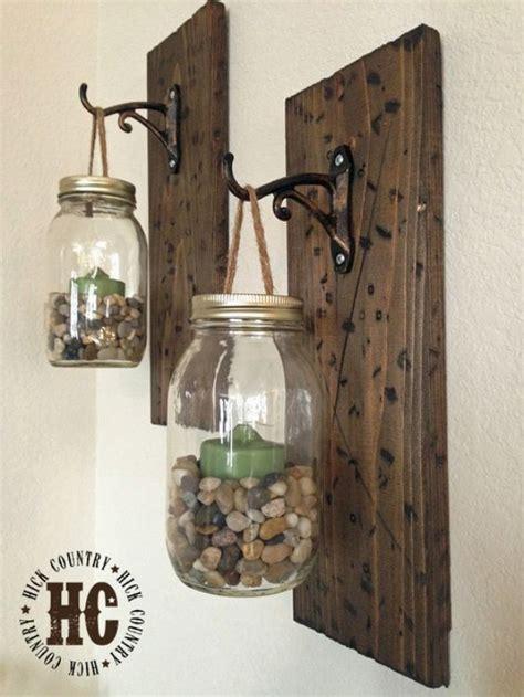 Wall Hanging Sconces 32 Diy Jar Lighting Ideas Page 3 Of 7 Diy