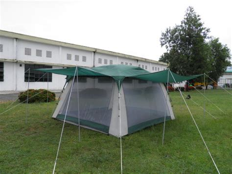 woods screen house with awnings screen tent 682 outdoor screen room with rain fly and