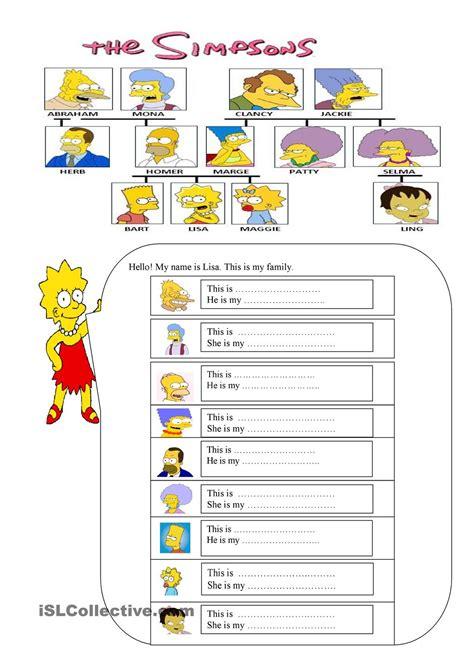 themes teaching english family members dili pinterest english worksheets