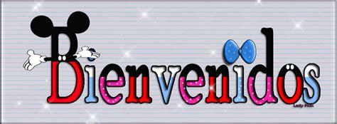 imagenes que digan bienvenidos crear estilo mickey mouse para las letras con photoshop
