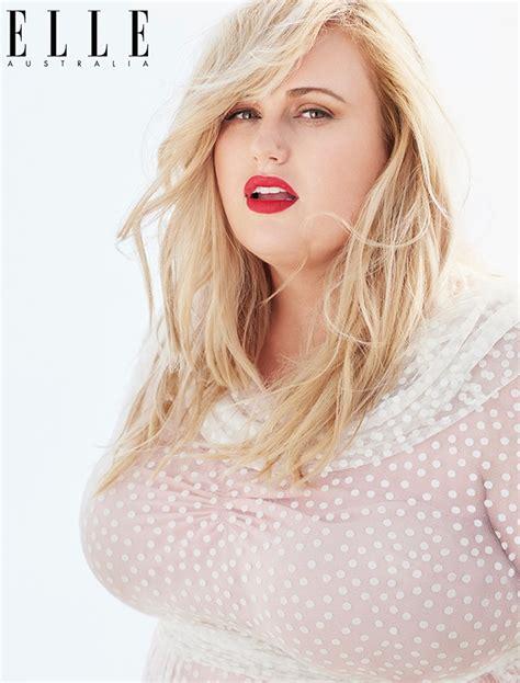 real beauty elle fashion magazine beauty tips opojal rebel wilson stars in elle australia april 2015