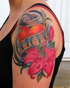 mom heart tattoo designs artistmikemiller designs