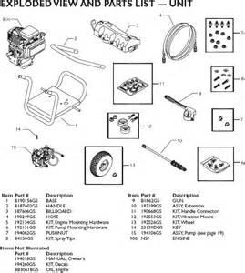 Honda Power Washer Parts Honda Troy Bilt 5 5 Hp