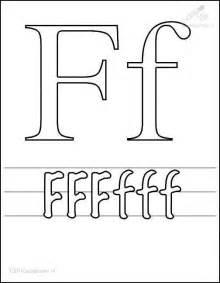 letter f coloring page coloring page letter f
