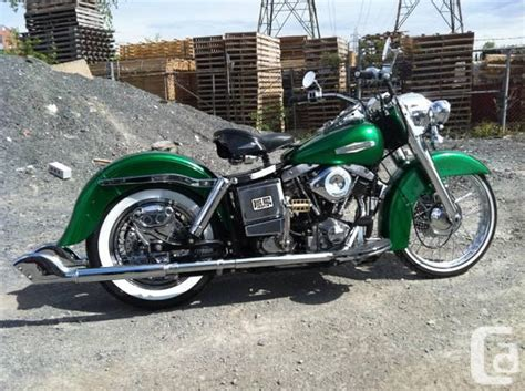 Harley Davidson Lava L by Harley Davidson Flh 1982 For Sale In Laval