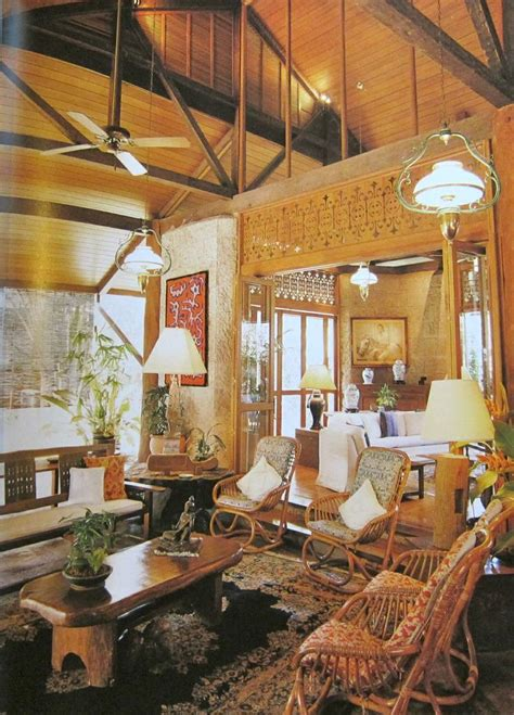 filipino home decor philippine interiors mabuhay pinterest