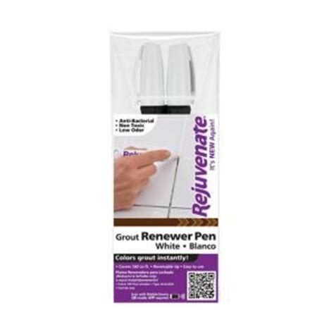 rejuvenate white grout restorer marker pens rj2gmw the