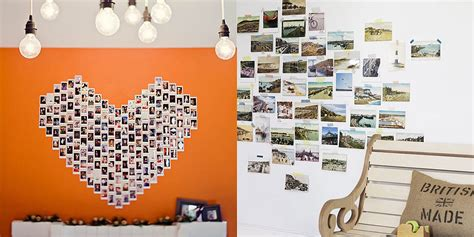 how to put photos on wall without hanging photos ideas popsugar smart living