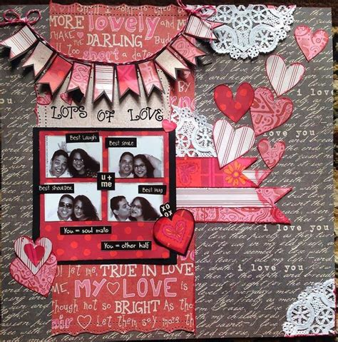 Valentines Scrapbooking Idea by 17 Best Images About Scrapbooking On